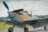 Messerschmidt bf109 — Stock Photo