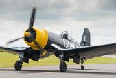 Chance Vought Corsair vintage aircraft — Stock Photo