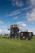 Control tower at airfield — Stock Photo
