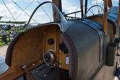 Cockpit of vintage RAF BE2c British fighter — Стоковое фото