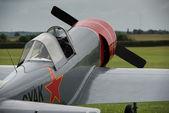 Aerostars YAK 52 display aircraft — Stock Photo