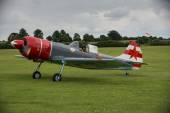 Aerostars YAK 52 display aircraft — Stock Photo