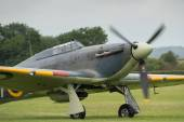 Vintage British Hawker Sea Hurricane — Stock Photo