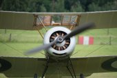 Vintage 1916 Sopwith Pup British fighter — Стоковое фото