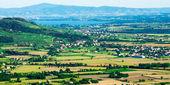 Panorama of Val di Chiana — Foto de Stock