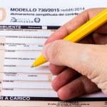 ������, ������: Italian tax return called 730