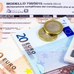 Постер, плакат: Italian tax return called 730
