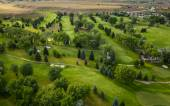 Golf Course Aerial — Stock Photo