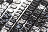 Typography — Foto de Stock