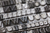 Typography — Stock Photo