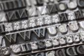 Typography — Stock Photo