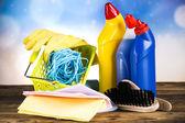 Productos de limpieza — Foto de Stock