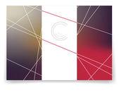 Vector multicolor brochure template. — Stock Vector