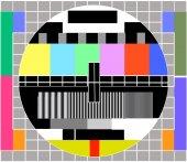 Tv Signal Vector — Vetor de Stock