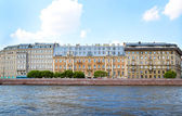 Classical view of city Saint Petersburg, Russia — Stock Photo