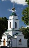 Russian ortodox church in Poltava, Ukraine — Stock Photo