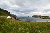 Güzel manzara Norveç, İskandinavya — Stok fotoğraf