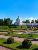 Menshikov's Palace in Oranienbaum, Lomonosov, Saint Petersburg, Russia — Stock Photo