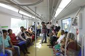 Mumbai Metro — Stock Photo