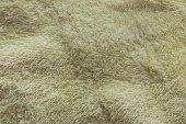 Yellow towel texture background — Foto de Stock