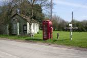 The village green Stainton Le Vale, Lincolnshire Wolds,England,U — Stock Photo