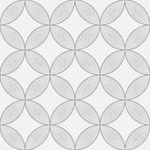Seamless pattern, circle design, vector illustration — Stock Vector