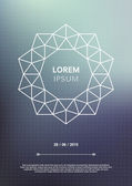 Geometric poster — Vecteur