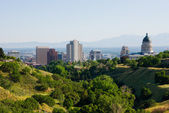 Salt lake city, utah — Stockfoto
