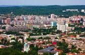 Historic Lviv city — Stock Photo