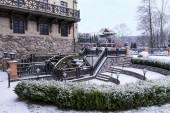 Watermill in a park Belmondo — Stock Photo