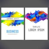 Abstract vector template design, brochure — Vetorial Stock