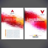 Template design — Stock Vector