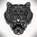 Wild animal tiger — Stock Vector #72305995