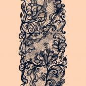 Abstract lace ribbon — Stockvector