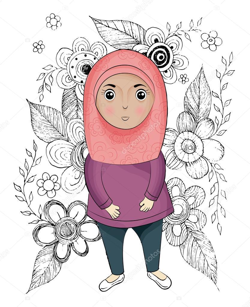 Фото девушка ислам скачать