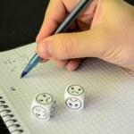 Student se snaží řešit matematické rovnice bez úspěchu — Stock fotografie #53776605