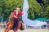 Performance of Kremlin Riding School — Stock Photo