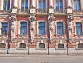 Belosselsky Belozersky Palace in St. Petersburg — Stock Photo