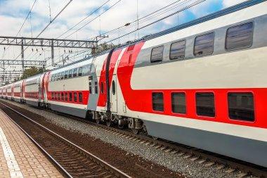 Double decker express train
