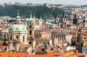 View of architecture in Prague, Czech Republic — Stock Photo
