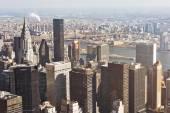Αεροφωτογραφία της Νέας Υόρκης — Φωτογραφία Αρχείου