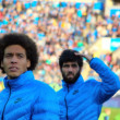 Two football players — Stock Photo #67301413