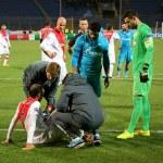 Ricardo Carvalho injury — Stock Photo #67355319