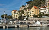 Architektur in Port de Nice, Frankreich — Stockfoto