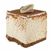 白いティラミス ケーキ — ストック写真