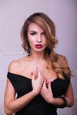 Hermosa mujer — Foto de Stock