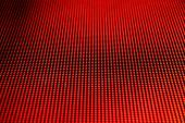 LED screen picture red horizontal  — Stock Photo