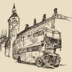 Hand drawn London city — Stock Vector #72757095