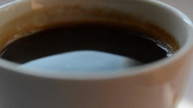 Cup of coffee — Stock Video