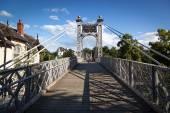 Suspension Footbridge Chester — Stock Photo